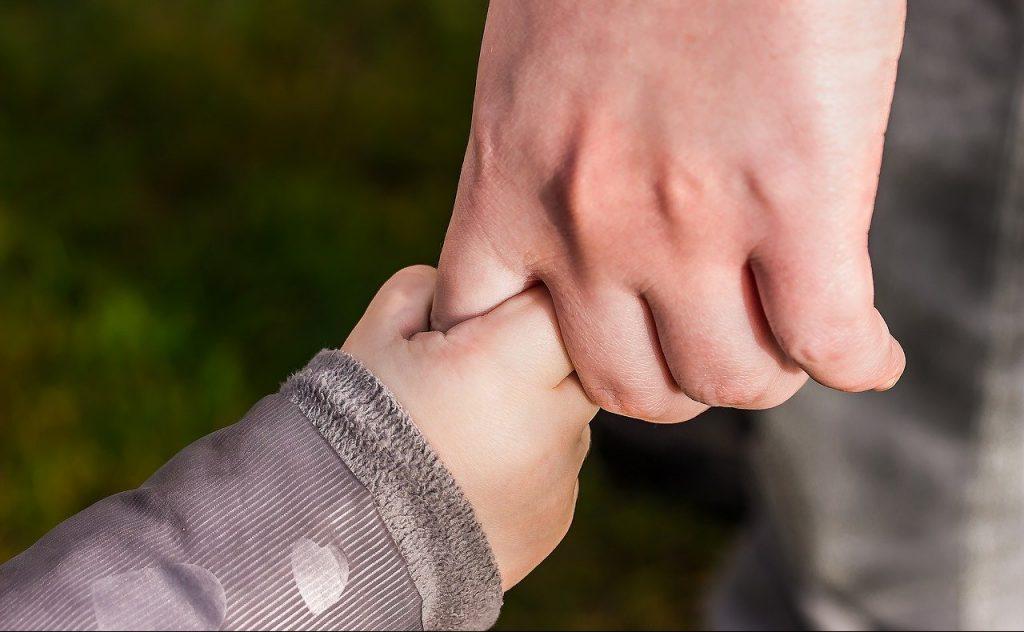 Hände halten - Vertrauen